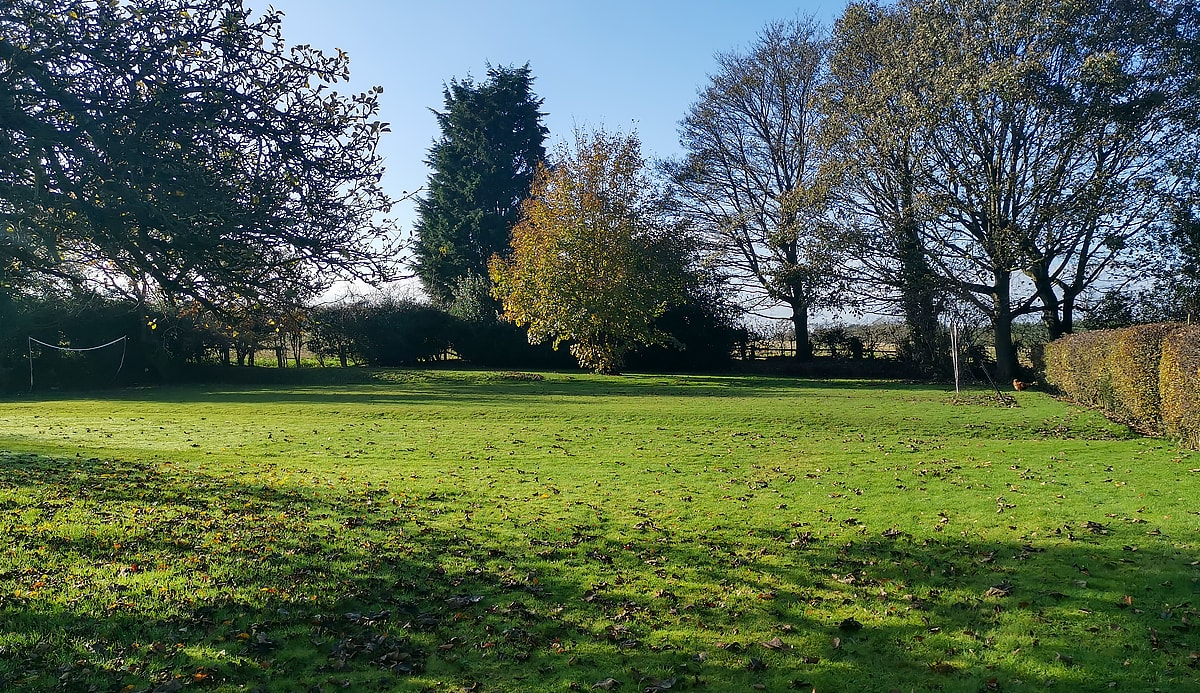 The extensive grounds at Howard House School